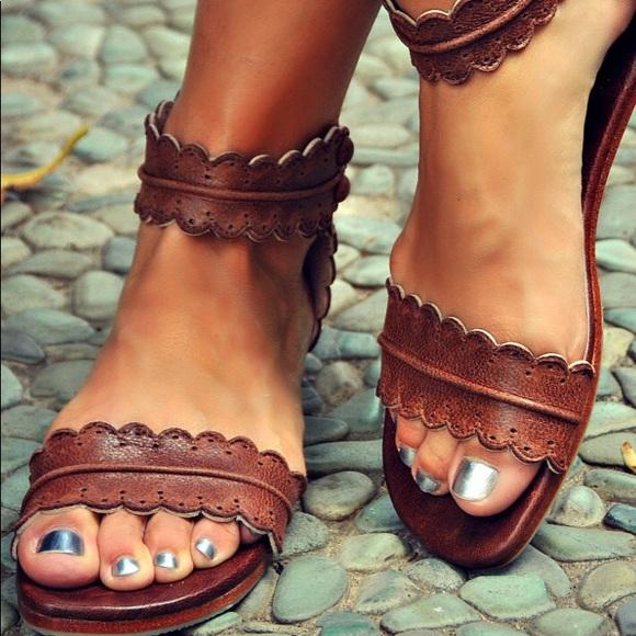 7e09bb187322 Bali Elf handmade midsummer sandals. M 5a508e191dffda0c5000047f